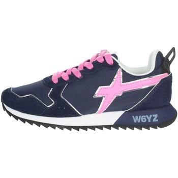 Schoenen Dames Lage sneakers W6yz 0012013563.01. Blue/Fuchsia