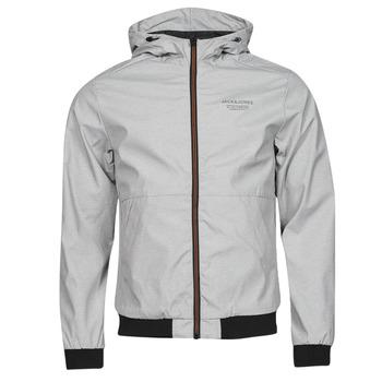 Textiel Heren Wind jackets Jack & Jones JJESEAM Grijs