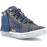 Schoenen Meisjes Hoge sneakers Lulu LS150014S Blauw