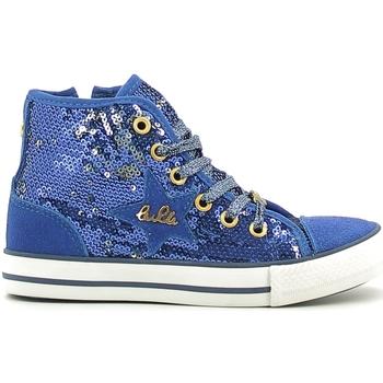 Schoenen Meisjes Hoge sneakers Lulu LV010070T Blauw