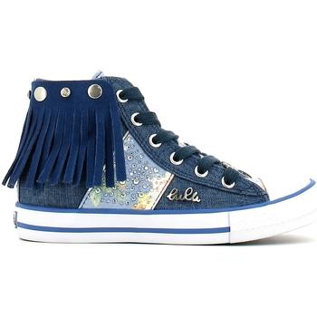 Schoenen Meisjes Hoge sneakers Lulu LV010060T Blauw