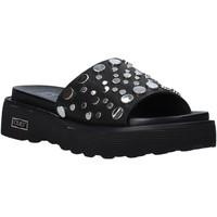 Schoenen Dames Leren slippers Cult CLE104329 Zwart