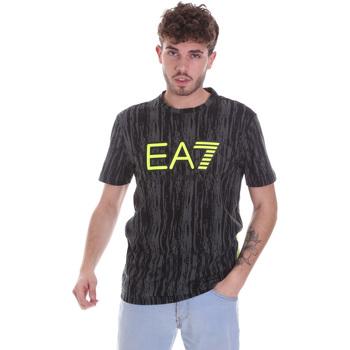 Textiel Heren T-shirts korte mouwen Ea7 Emporio Armani 6HPT04 PJB1Z Zwart