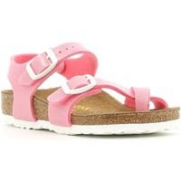 Schoenen Meisjes Sandalen / Open schoenen Birkenstock 371603 Roze