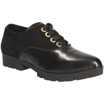 Schoenen Dames Derby Byblos Blu 6MBS41 Zwart