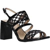 Schoenen Dames Sandalen / Open schoenen Apepazza S0MONDRIAN08/PAT Zwart