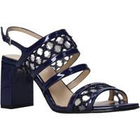 Schoenen Dames Sandalen / Open schoenen Apepazza S0MONDRIAN08/PAT Blauw