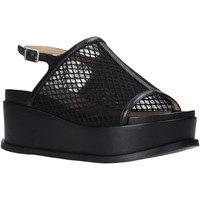 Schoenen Dames Sandalen / Open schoenen Apepazza S0CHER04/NET Zwart