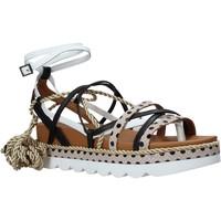 Schoenen Dames Sandalen / Open schoenen Manila Grace S620DU Zwart