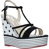 Schoenen Dames Sandalen / Open schoenen Manila Grace S605LP Zwart