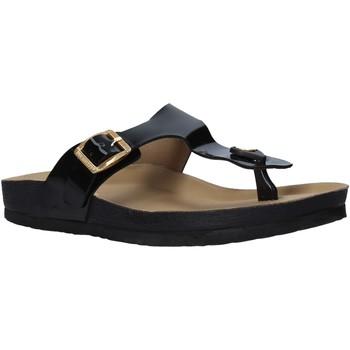 Schoenen Dames Slippers Docksteps DSE105459 Zwart