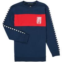 Textiel Meisjes Sweaters / Sweatshirts Vans SOLAL Blauw / Rood