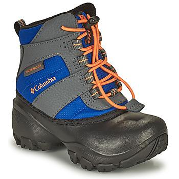 Schoenen Kinderen Snowboots Columbia CHILDRENS ROPE TOW Blauw / Orange