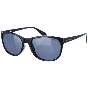 Horloges & Sieraden Dames Zonnebrillen Polaroid Lunettes de soleil Zwart