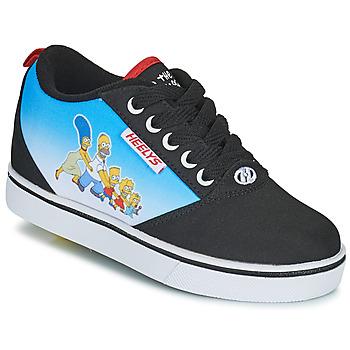 Schoenen Kinderen Schoenen met wieltjes Heelys PRO 20 PRINTS Zwart / Blauw / Multicolour