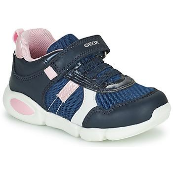 Schoenen Jongens Lage sneakers Geox B PILLOW Blauw