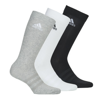 Ondergoed Sportsokken adidas Performance LIGHT CREW X3 Grijs / Wit / Zwart