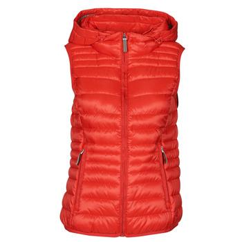 Textiel Dames Dons gevoerde jassen Esprit LEMARA Rood