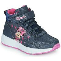 Schoenen Meisjes Hoge sneakers Disney MINNIE Zwart