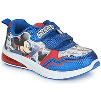 Schoenen Jongens Lage sneakers Disney MICKEY Blauw