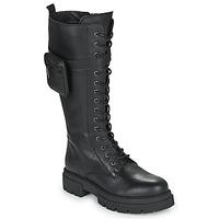 Schoenen Dames Hoge laarzen Fericelli PISA Zwart