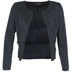 Textiel Dames Leren jas / kunstleren jas Only KIM Marine