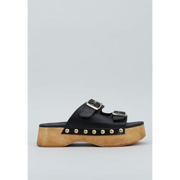 Schoenen Dames Leren slippers Krack  Zwart