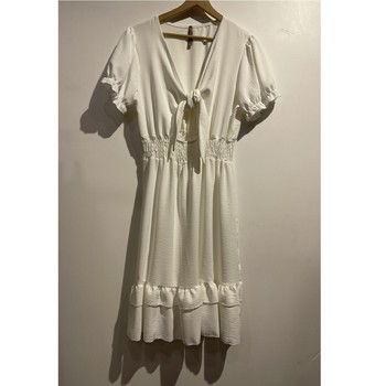 Textiel Dames Korte jurken Fashion brands 9176-BLANC Wit