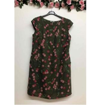 Textiel Dames Korte jurken Fashion brands CERISIER-1533-KAKI Kaki