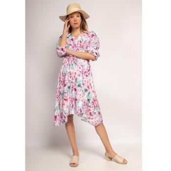 Textiel Dames Korte jurken Fashion brands 9471-ROSE Roze