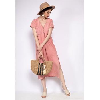 Textiel Dames Korte jurken Fashion brands 6658-CORAIL Corail
