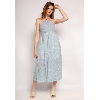 Textiel Dames Korte jurken Fashion brands 571-BLEU-CLAIR Blauw / Clair