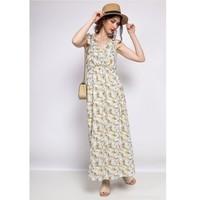 Textiel Dames Korte jurken Fashion brands R182-BEIGE Beige