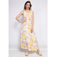Textiel Dames Korte jurken Fashion brands R185-JAUNE Geel