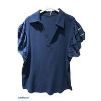 Textiel Dames Tops / Blousjes Fashion brands 310311-NAVY Marine