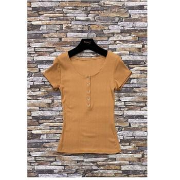 Textiel Dames Tops / Blousjes Fashion brands HS-2863-BROWN Brown