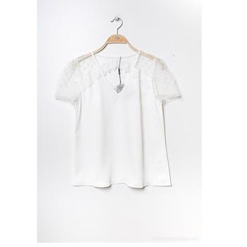 Textiel Dames Tops / Blousjes Fashion brands K5518-WHITE Wit