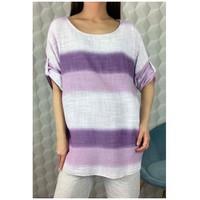 Textiel Dames Tops / Blousjes Fashion brands 156485V-LILAC Lila