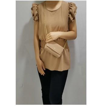 Textiel Dames Tops / Blousjes Fashion brands 3101-CAMEL  camel
