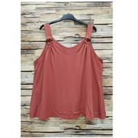 Textiel Dames Tops / Blousjes Fashion brands 3841-RASPBERRY Roze
