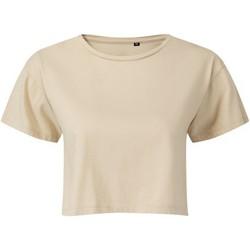 Textiel Dames Tops / Blousjes Tridri TR019 Naakt