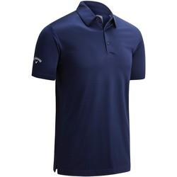 Textiel Heren Polo's korte mouwen Callaway CW025 Peacoat Marine