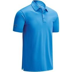 Textiel Heren Polo's korte mouwen Callaway CW025 Lentevakantie hemel