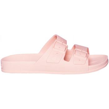 Schoenen Dames Leren slippers Cacatoès Belo horizonte Grijs