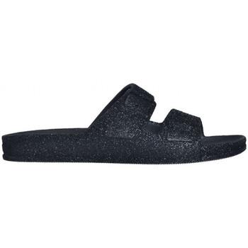 Schoenen Dames Leren slippers Cacatoès Trancoso Zwart