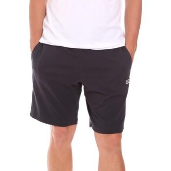 Textiel Heren Korte broeken / Bermuda's Ea7 Emporio Armani 3KPS53 PJ7BZ Blauw