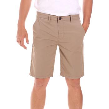 Textiel Heren Korte broeken / Bermuda's Lumberjack CM80648 002EU Beige
