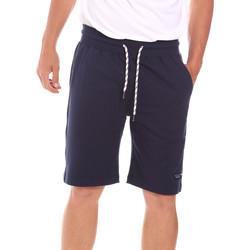Textiel Heren Korte broeken / Bermuda's Key Up 2F38E 0001 Blauw