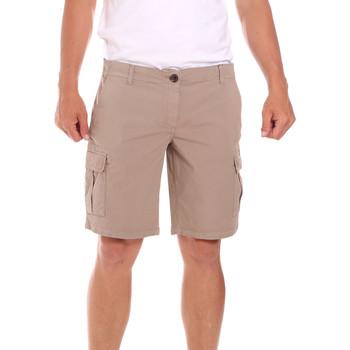 Textiel Heren Korte broeken / Bermuda's Lumberjack CW80748 002EU Beige