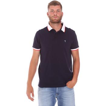 Textiel Heren Polo's korte mouwen Trussardi 52T00491-1T003600 Blauw
